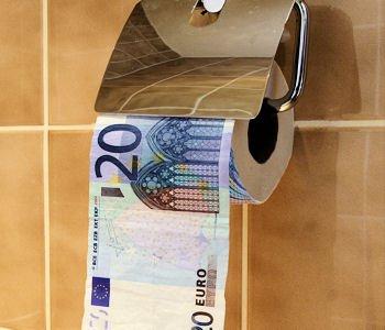 1445663-un-cheque-sur-du-papier-toilette