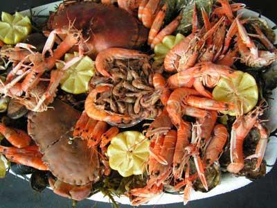 """Résultat de recherche d'images pour """"crustacés repas"""""""