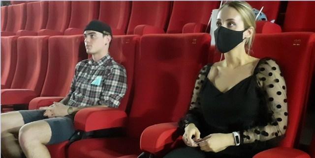 J'ai testé…la séance de ciné en mode « déconfinée »