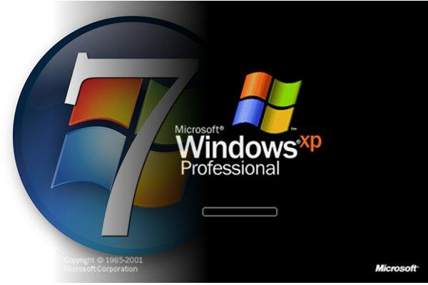 "Résultat de recherche d'images pour ""windows xp vs windows 7"""