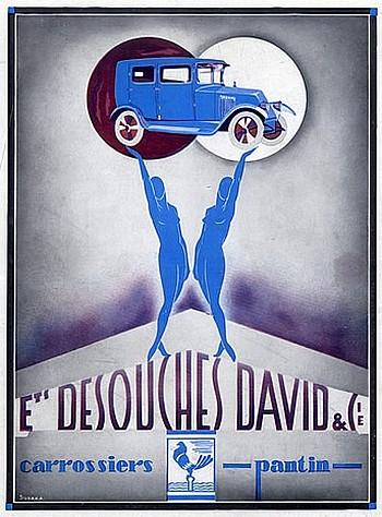 Desouches David Carrosserie a Pantin - Affiche en couleur de 1926.jpg