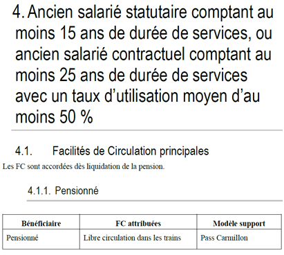 Facilites Circulation Retraite Depart Volontaire L Entreprise Sncf