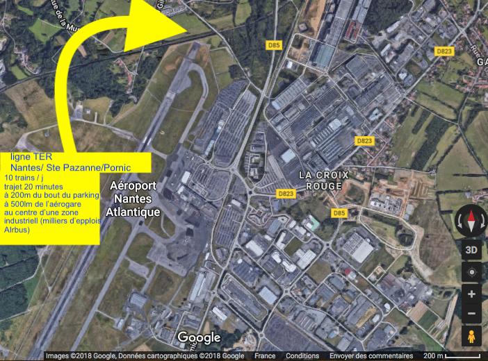 TER Nantes:Ste Pazanne:Pornic bout de piste aéroport de Nantes-Atlantique.png
