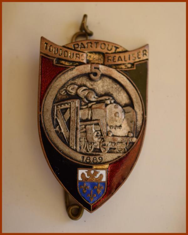 5 ème Régiment du Génie - insigne .JPG
